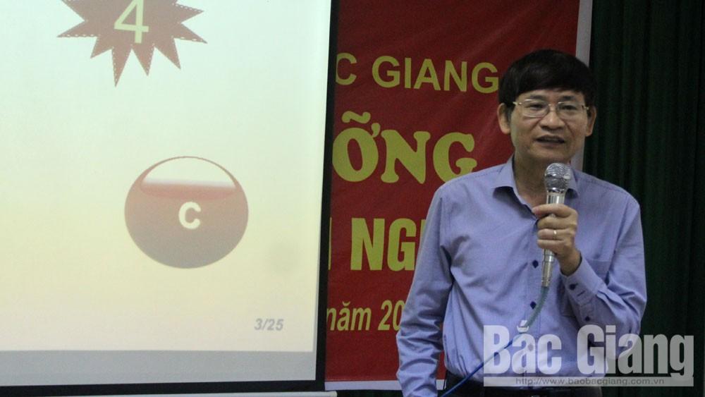 Đoàn Luật sư tỉnh Bắc Giang tập huấn tư vấn pháp luật với doanh nghiệp